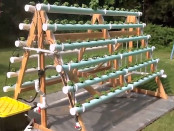 DIY, Aquaponics, Hydroponics, A-Frame, Home, Do It Yourself