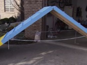 DIY. How To Build Dog Agility Course, Do It Yourself At Home, Dog Obedience