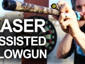 DIY, Laser, Assisted, Laser Sights, Survival, Prepping, Hunting, Blowgun, Preparedness, Emergency, SHTF