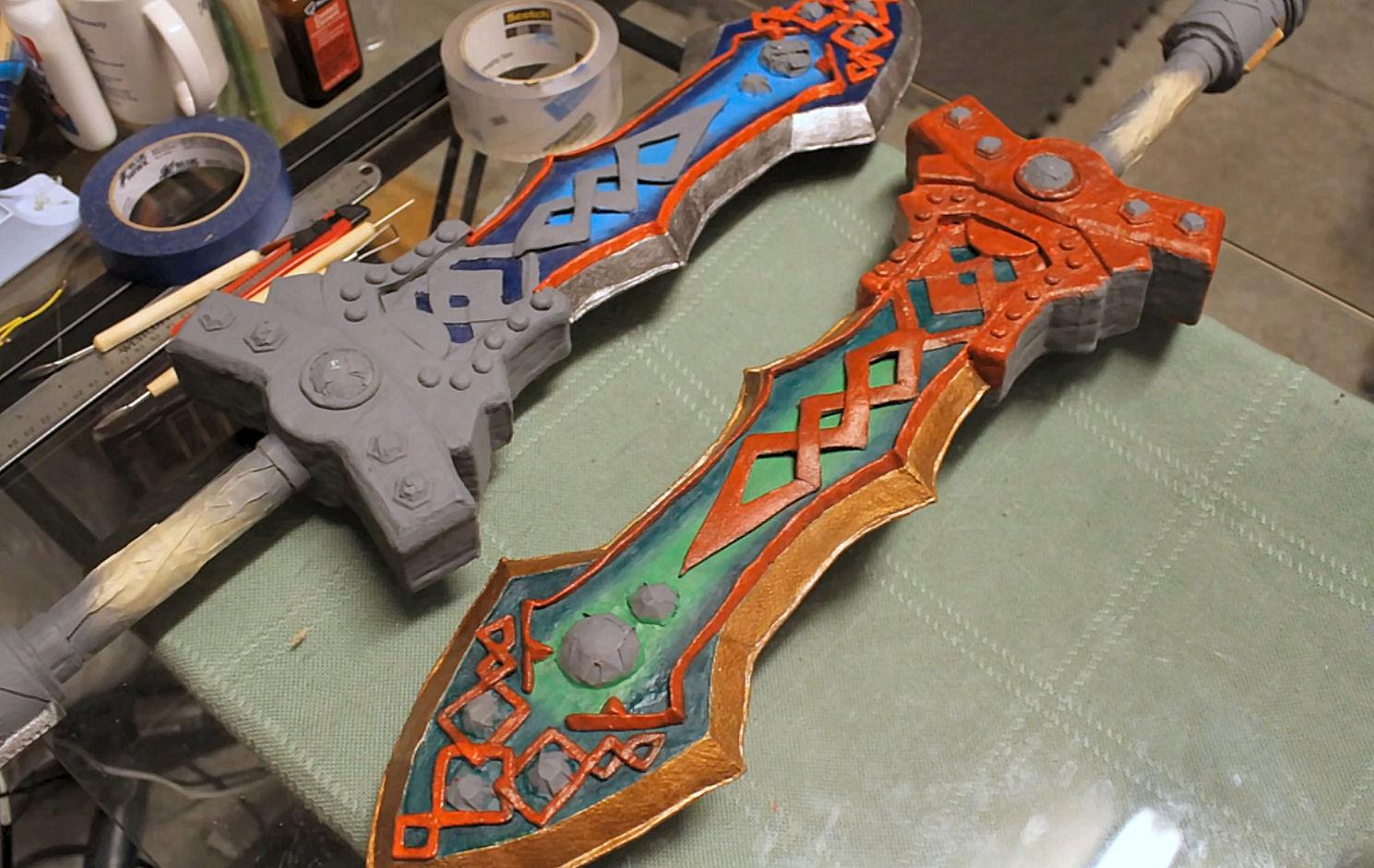 Diy Foam Cosplay Larp Sword