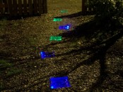 DIY, Solar, Walkway, Path, Garden, Lighted, Back Yard, Do It Yourself