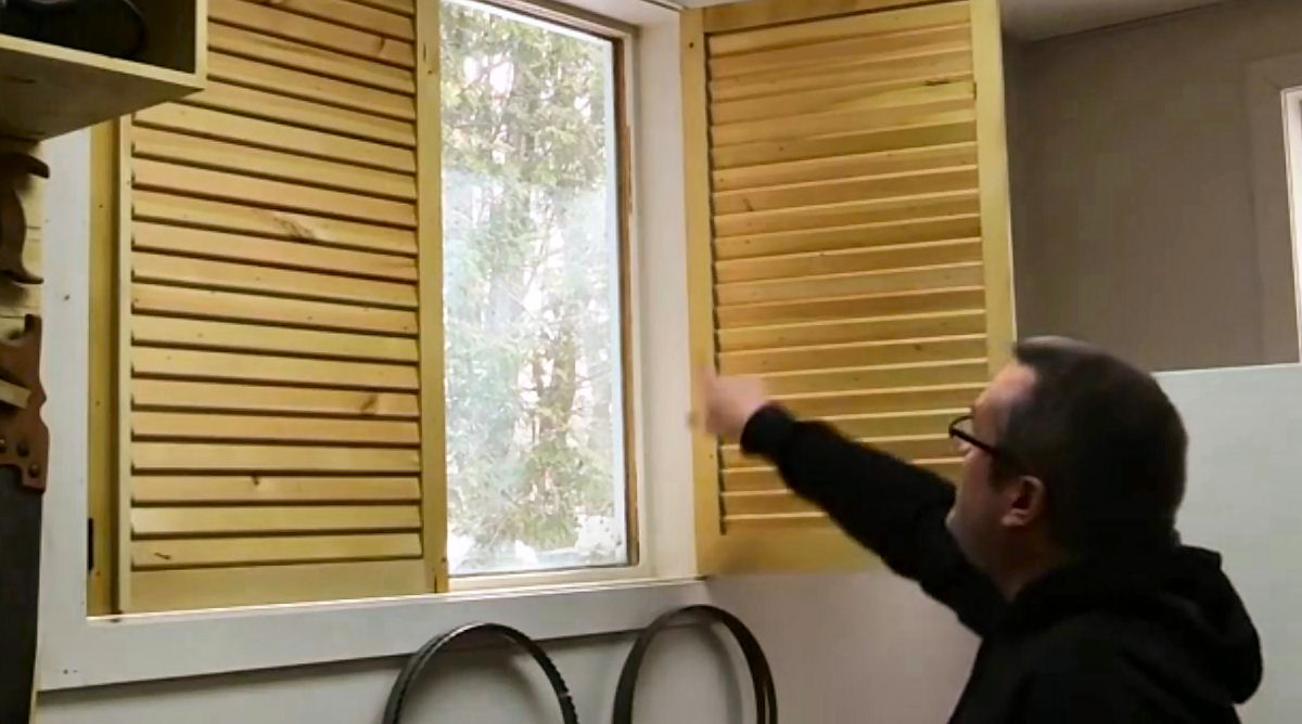 Building Diy Wooden Window Blinds Home Projects Do It