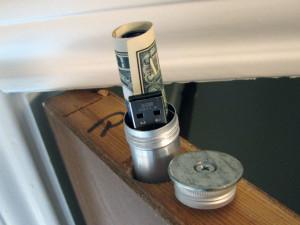 DIY Project, DIY Home Security, Diversion Safe, Door-Top Stash, DIy At Home Do It Yourself