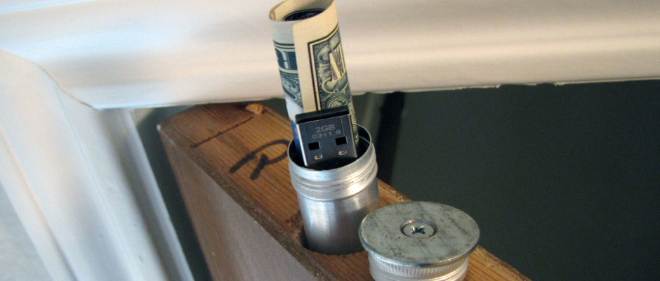 DIY Project, DIY Home Security, Diversion Safe, Door-Top Stash, DIy At Home Do It Yourself