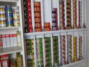 Rotating, Can, Survival, Pantry,Do It Yourself, At Home, DIY