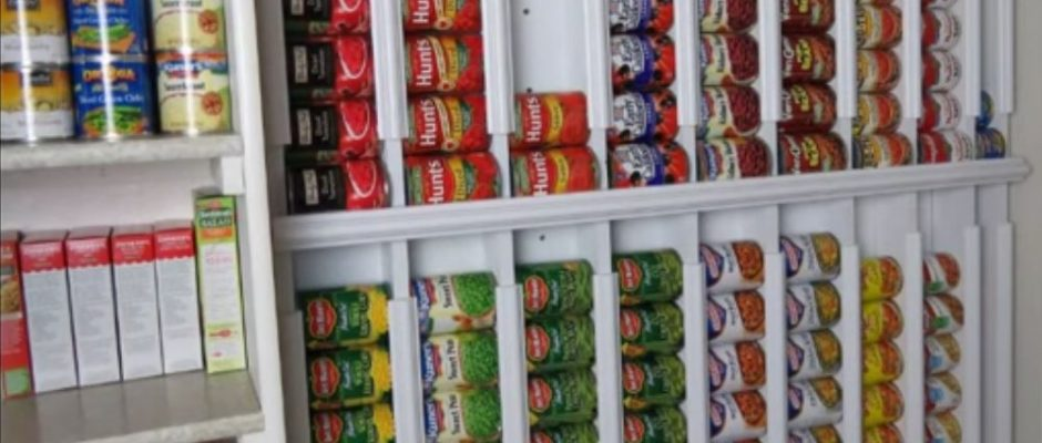 Storing Canned Food For Emergencies